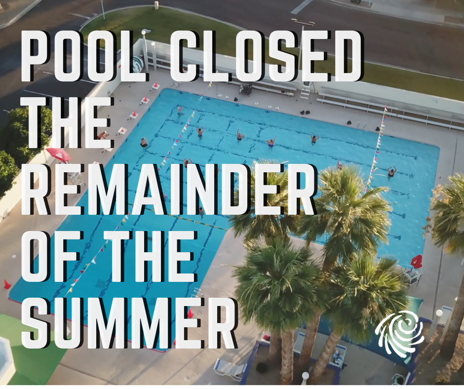 Pool Closed for the Remainder of the Summer