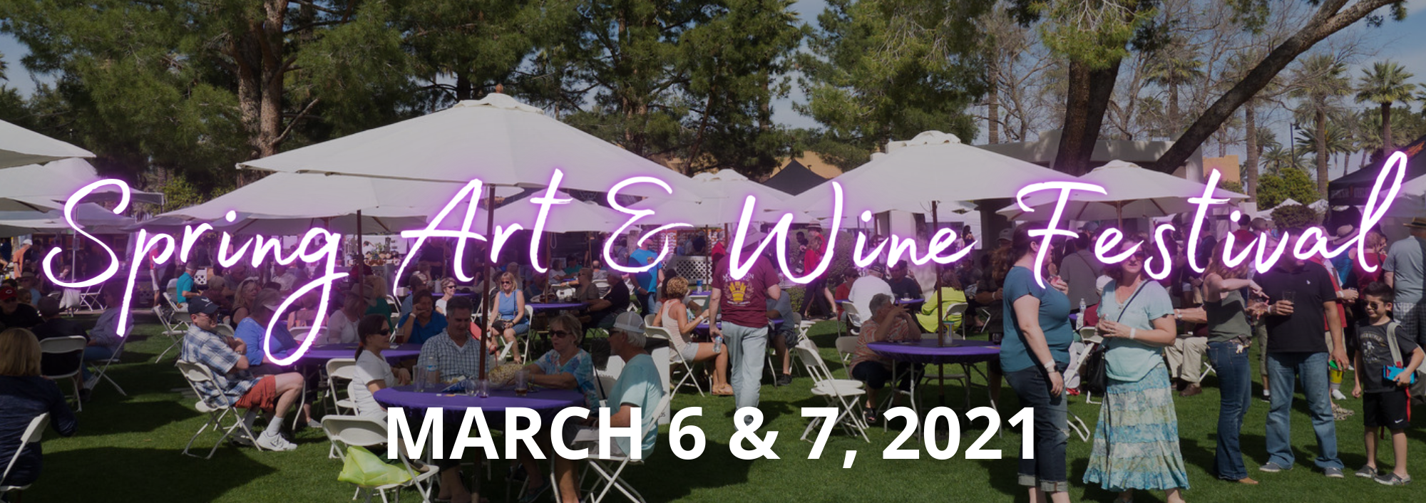 Spring Art & Wine Header Pic