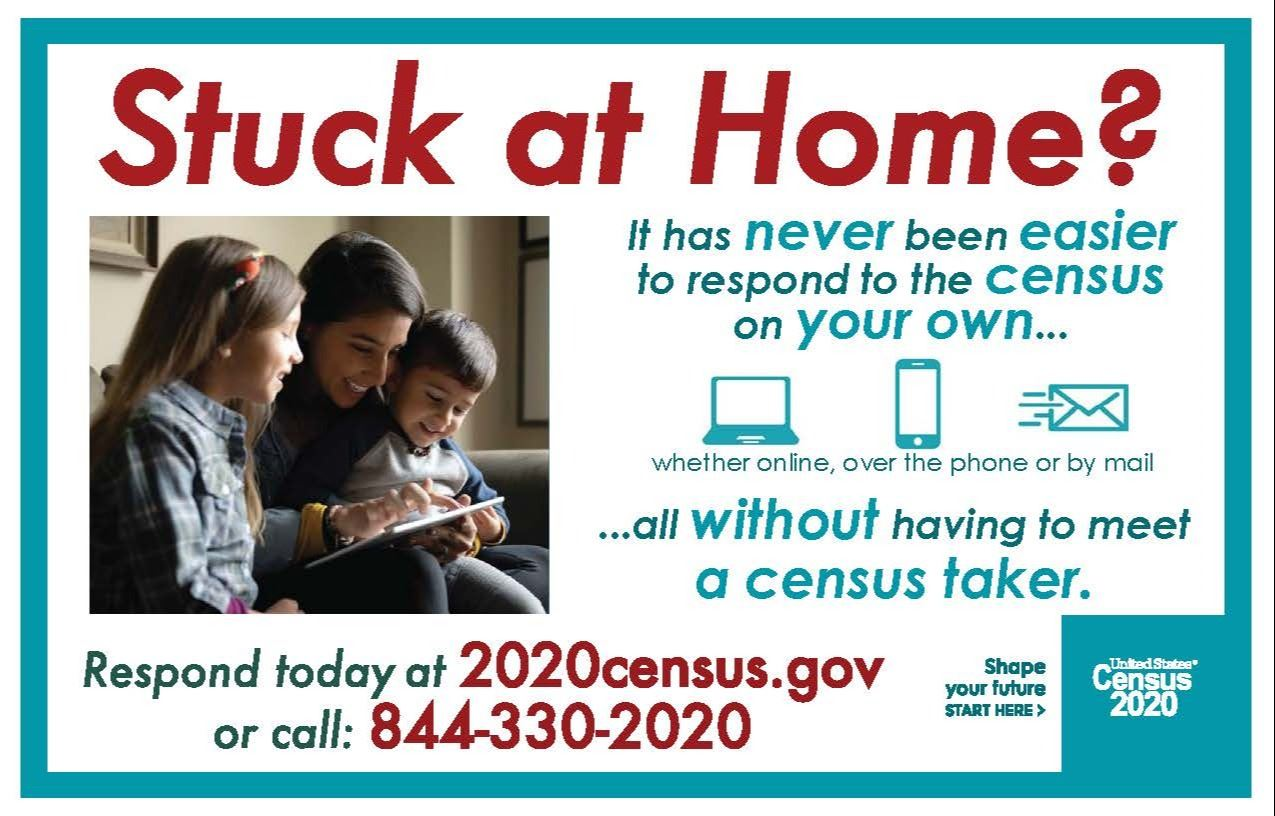 Census 2020 -Stuck at Home